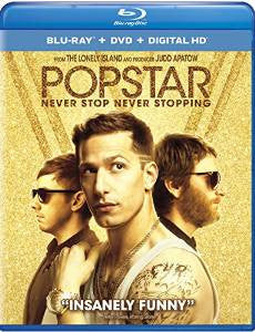Popstar: Never Stop Never Stopping Digital Copy Download Code iTunes HD