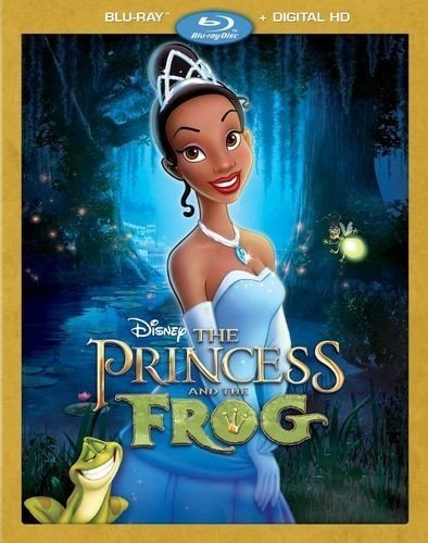 Princess & the Frog Digital Copy Download Code Disney Google Play HD