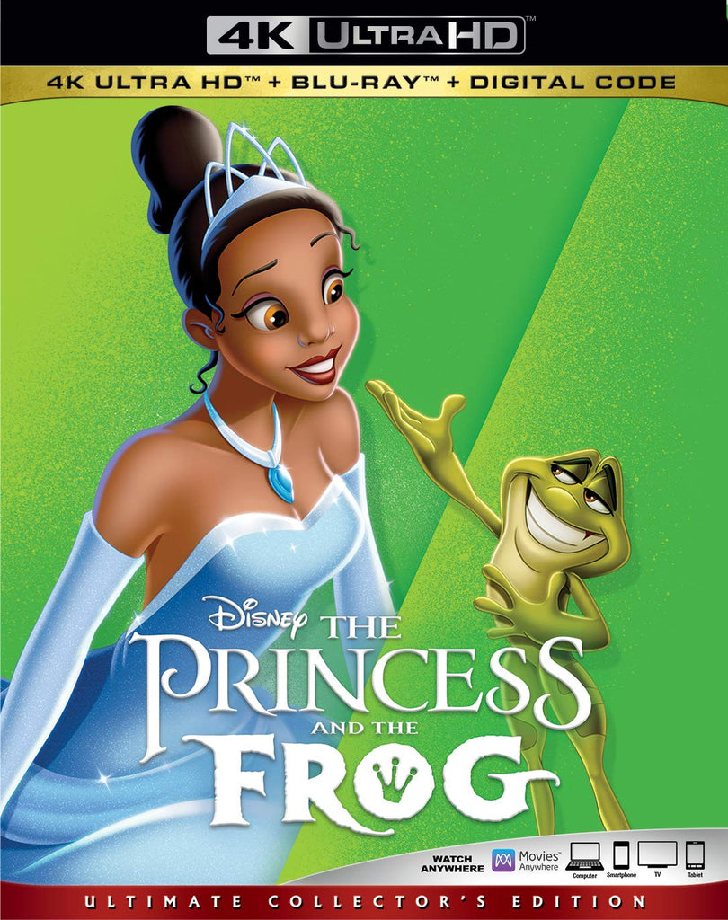 Princess & The Frog Digital Copy Download Code Disney Vudu 4K