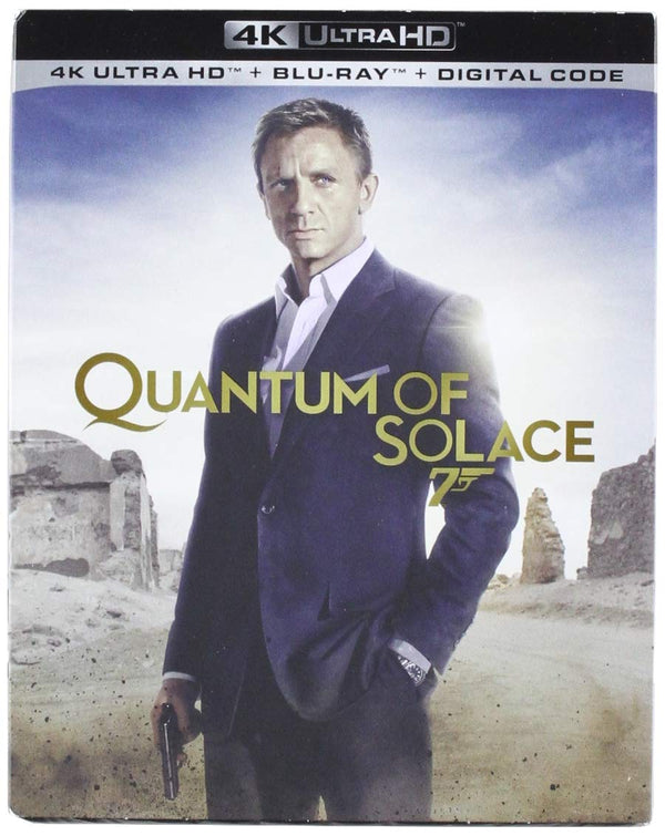 007 Quantum of Solace Digital Copy Download Code VUDU 4K