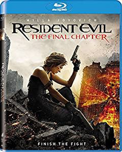 Resident Evil The Final Chapter Digital Copy Download Code Ultra Violet UV VUDU iTunes HD HDX