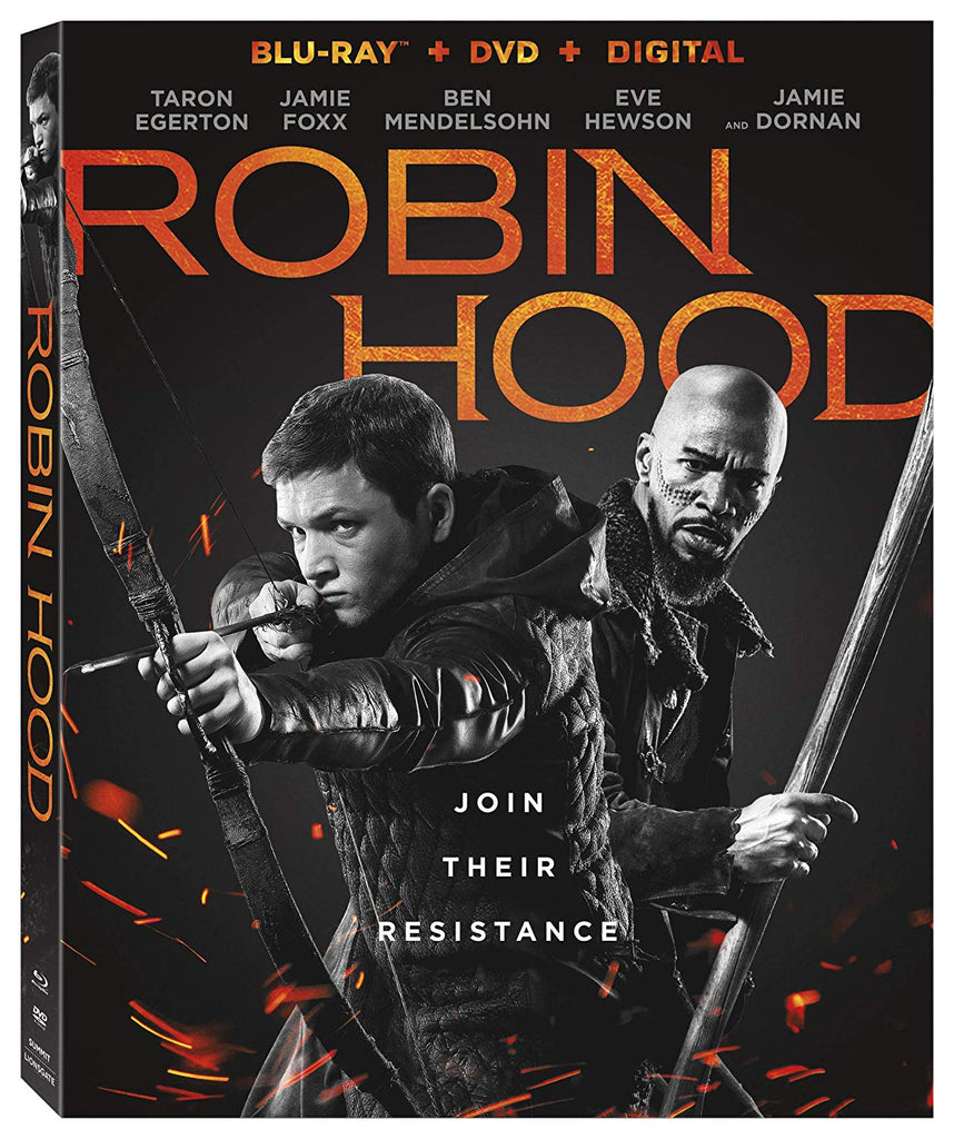 Robin Hood (2018) Digital Copy Download Code VUDU or iTunes HD HDX