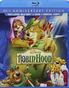 Robin Hood (1973) Digital Copy Download Code Disney Google Play HD