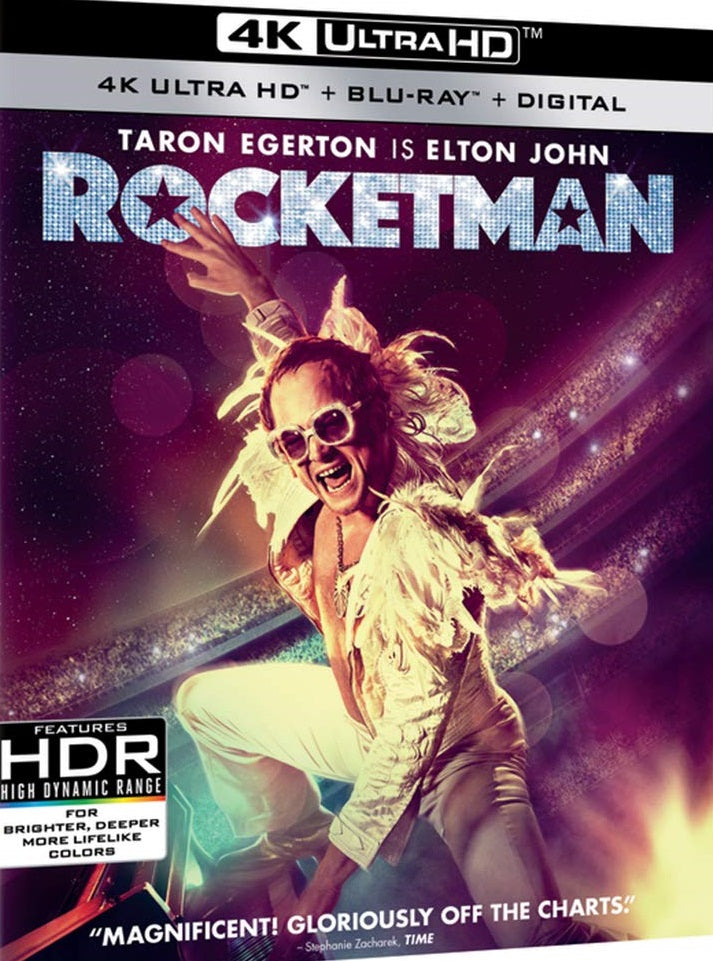 Rocketman Digital Copy Download Code VUDU 4K
