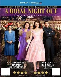 A Royal Night Out Digital Copy Download Code UV Ultra Violet VUDU HD HDX