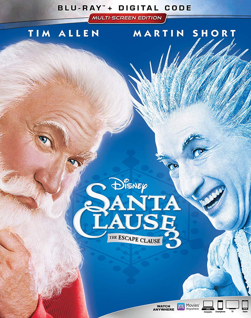 Santa Clause 3 Digital Copy Download Code Disney Vudu HDX