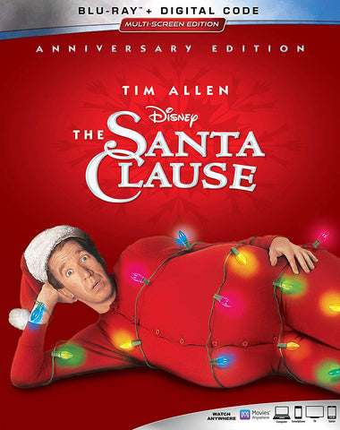 Santa Clause Digital Copy Download Code Disney Google Play HD