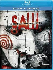 Saw: The Complete Movie Collection Digital Copy Download Code VUDU HD HDX