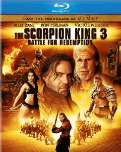 Scorpion King 3: Battle for Redemption Digital Copy Download Code iTunes HD