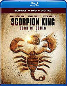 Scorpion King Book of Souls Digital Copy Download Code iTunes HD