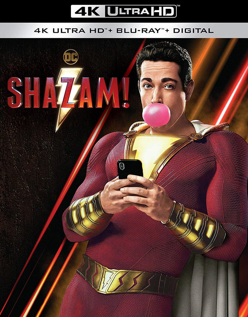Shazam! Digital Copy Download Code MA Vudu iTunes 4K