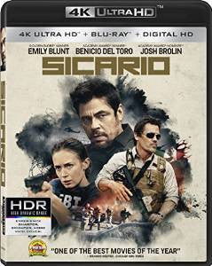 Sicario Digital Copy Download Code 4K