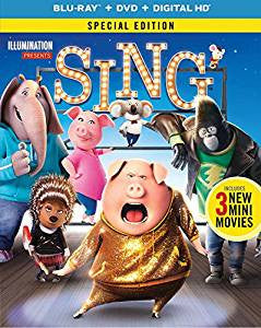 Sing Digital Copy Download Code iTunes HD