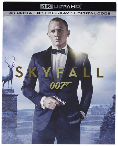 007 Skyfall Digital Copy Download Code VUDU 4K