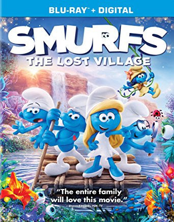 Smurfs The Lost Village Digital Copy Download Code Ultra Violet UV VUDU iTunes HD HDX