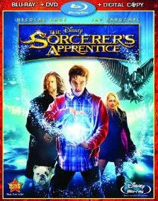 Sorcerer's Apprentice Digital Copy Download Code Disney Movies Anywhere VUDU iTunes HD HDX