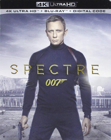 007 Spectre Digital Copy Download Code VUDU 4K