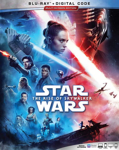 Star Wars Rise of Skywalker Digital Copy Download Code Google Play HD