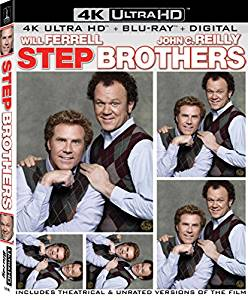 Step Brothers Digital Copy Download Code 4K