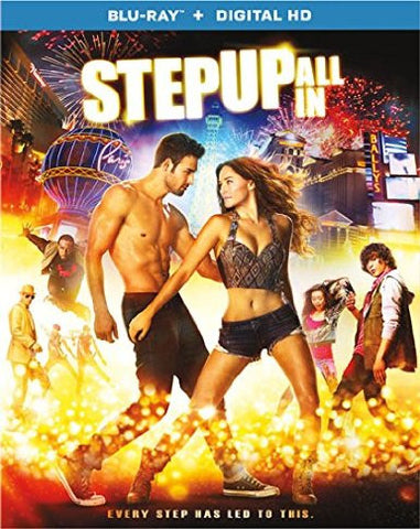 Step Up All In Digital Copy Download Code UV Ultra Violet VUDU HD HDX