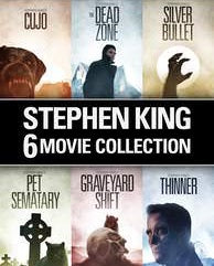 Stephen King 6-Film Collection Digital Copy Download Code VUDU HDX