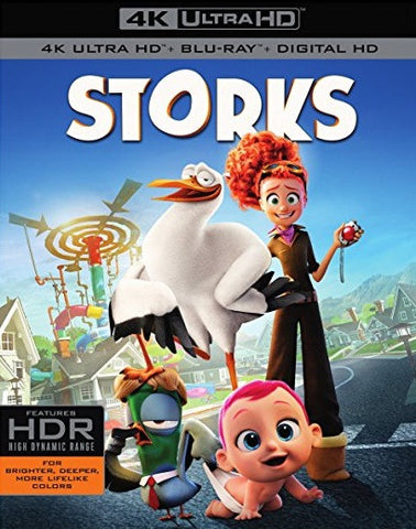 Storks Digital Copy Download Code 4K