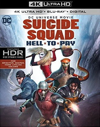 Suicide Squad Hell to Pay Digital Copy Download Code MA VUDU iTunes 4K