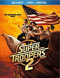 Super Troopers 2 Digital Copy Download Code Ultra Violet UV VUDU iTunes HD HDX