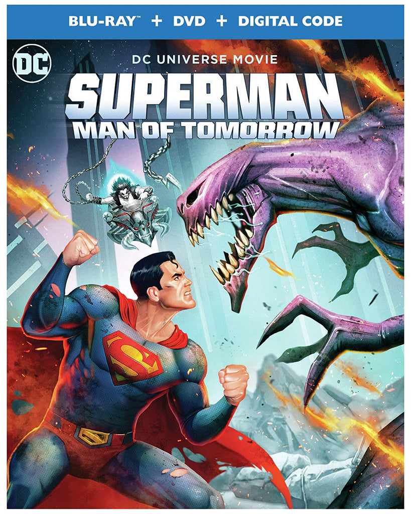 Superman Man of Tomorrow Digital Copy Download Code MA VUDU iTunes HD HDX