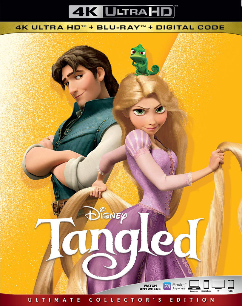 Tangled Digital Copy Download Code Disney Vudu 4K
