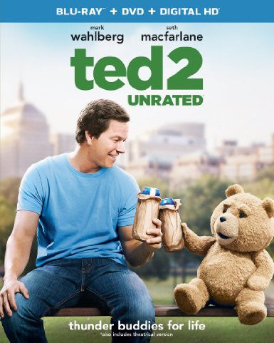Ted 2 Unrated Digital Copy Download Code iTunes HD
