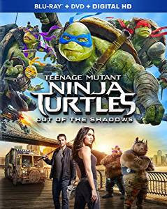Teenage Mutant Ninja Turtles: Out of the Shadows Digital Copy Download Code iTunes HD 4K