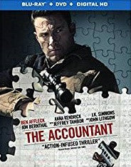 Accountant Digital Copy Download Code MA VUDU iTunes HD HDX