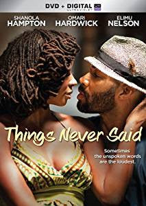 Things Never Said Digital Copy Download Code Ultra Violet UV VUDU SD