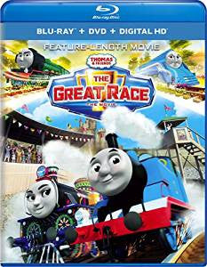 Thomas & Friends The Great Race Digital Copy Download Code iTunes HD