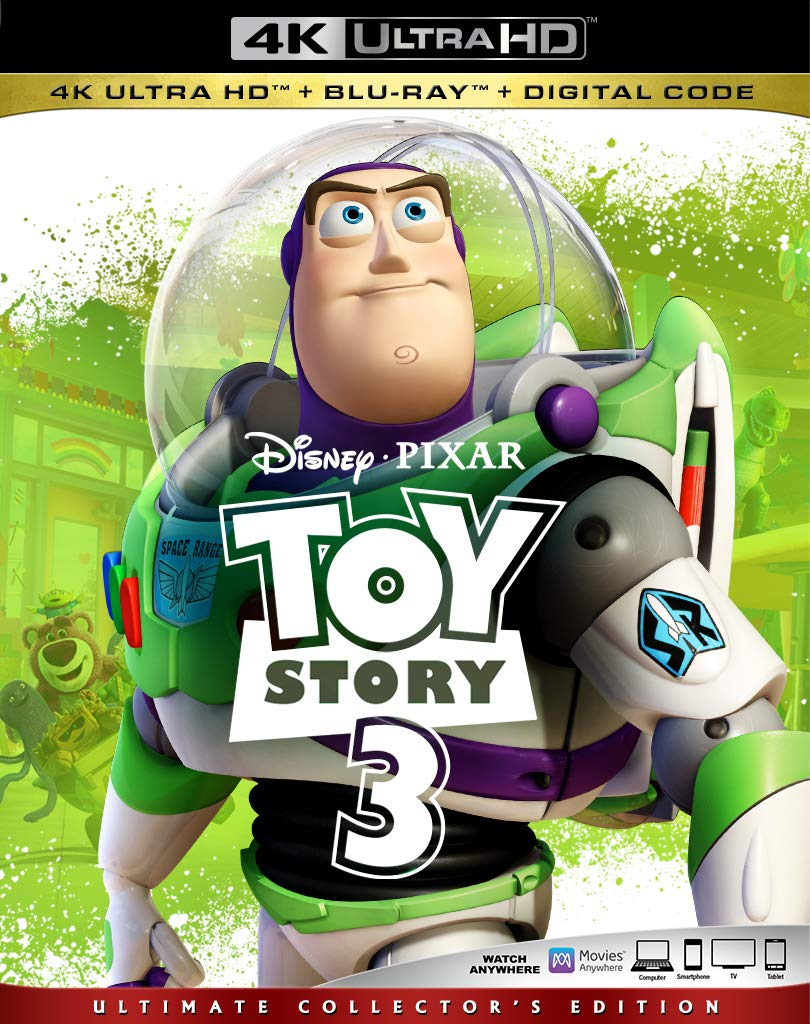 Toy Story 3 Digital Copy Download Code Disney Vudu 4K