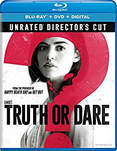 Truth or Dare Unrated Director's Cut Digital Copy Download Code Ultra Violet UV VUDU iTunes HD HDX