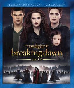 Twilight Saga Breaking Dawn Part 2 Digital Copy Download Code UV Ultra Violet VUDU HD HDX