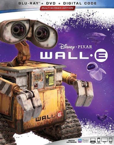 Wall-E Digital Copy Download Code Disney Google Play HD