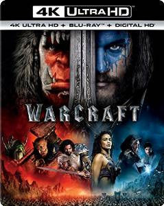 Warcraft Digital Copy Download Code Vudu 4K