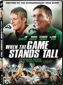 When The Game Stands Tall Digital Copy Download Code UV Ultra Violet VUDU iTunes SD