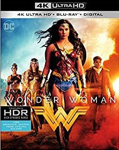 Wonder Woman Digital Copy Download Code MA VUDU iTunes 4K