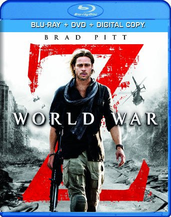 World War Z Digital Copy Download Code UV Ultra Violet VUDU HD HDX