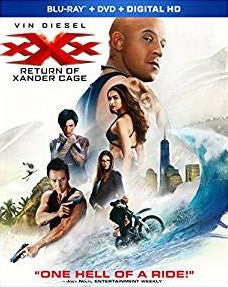 XXX The Return of Xander Cage Digital Copy Download Code Ultra Violet UV VUDU HD HDX