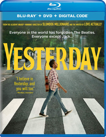 Yesterday 2019 Digital Copy Download Code MA Vudu iTunes HDX