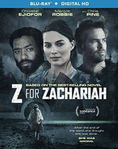 Z for Zachariah Digital Copy Download Code UV Ultra Violet VUDU HD HDX
