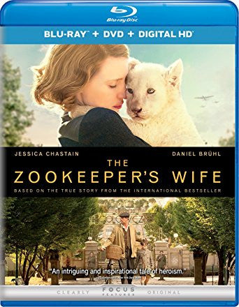 Zookeeper's Wife Digital Copy Download Code Ultra Violet UV VUDU HD HDX