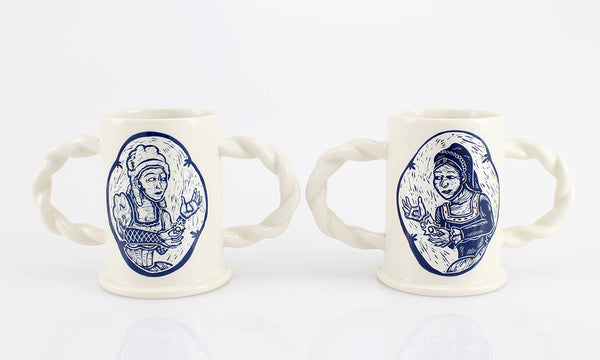 'Til Death Do Us Part- Lesbian Couple Cup