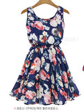 Ladies Dress Print Casual Vintage Female Vestidos European Style Fashion Office Women Clothing Cheap Bohemian Beach Summer Dress - serenityboutique