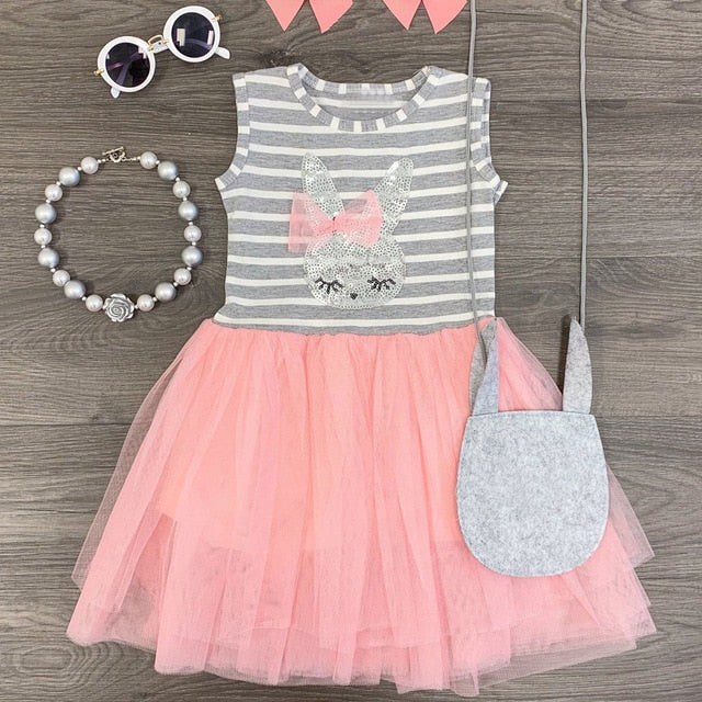 Girls Dress Kids Dresses For Girls Princess Summer Kids Children Cartoon For Girls Kids Girl Children Party Dresses Vestidos
